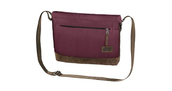Jack Wolfskin Cocopa Shoulder Bag garnet red